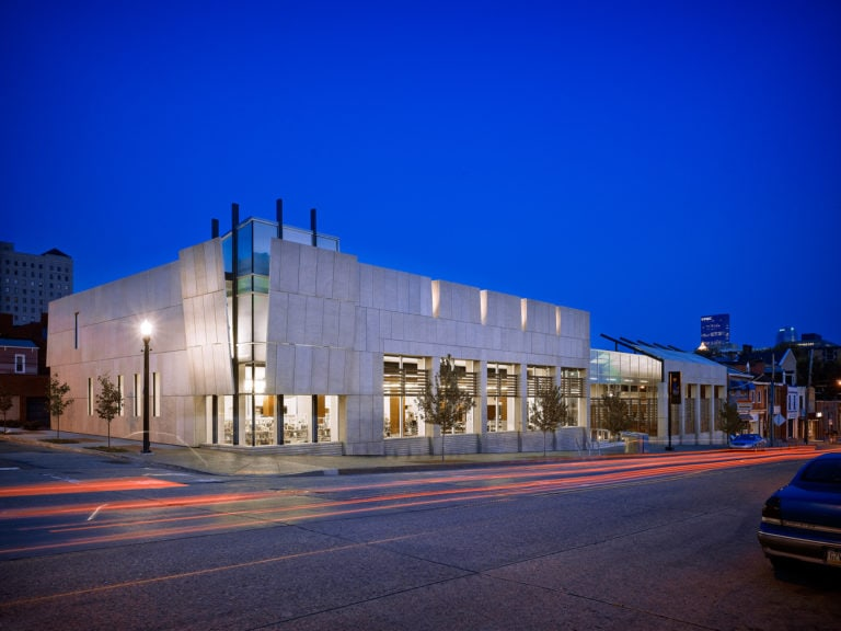 Ed Massery; Massery Photography, Inc.; Carnegie Library of Pittsburgh, North Side Branch; loysen + kreuthmeier architects